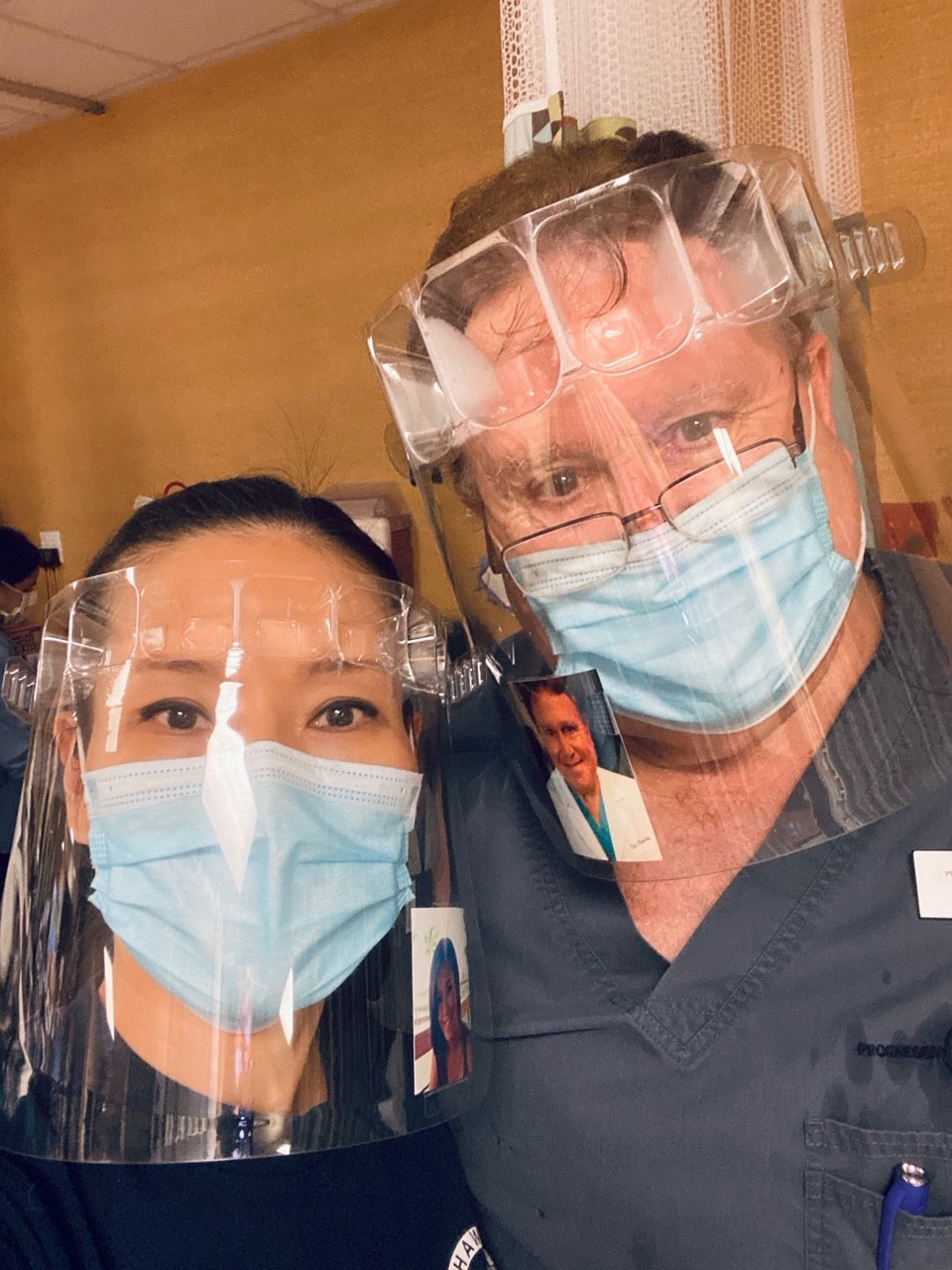 infection control, face shield, and ppe