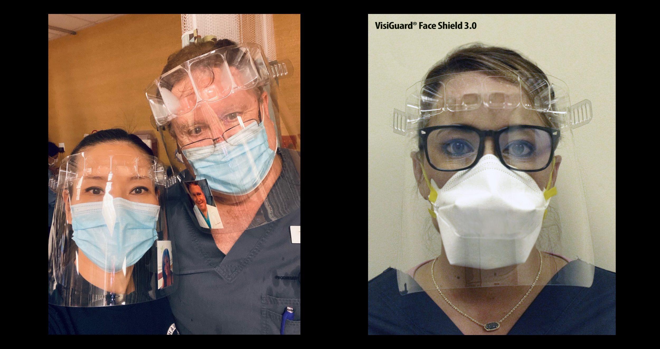 face shields, PPE, covid19, delta variant, lamda variant