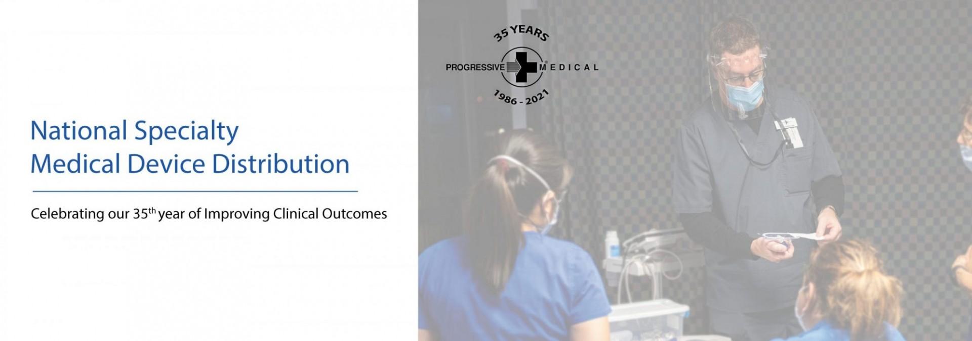 Progressive Medical Inc 35th Anniversary Sliding Image